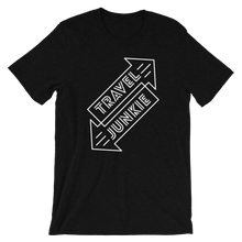 Travel Junkie Short-Sleeve Unisex T-Shirt