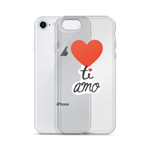 Ti Amo iPhone Case / Language of Love Italian Edition