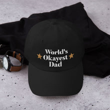 "The Hilarious ""World's Okayest Dad"" Hat"