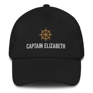 "Captain Personalized Ball Cap (""Dad Hat"" Style)"