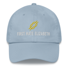 Personalized 'First Mate' Ball Cap