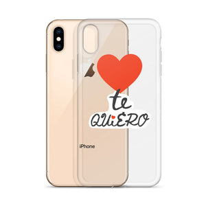 Te Quiero iPhone Case / Language of Love Spanish Edition