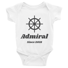 Captain & Admiral Infant One Piece (Personalized!)