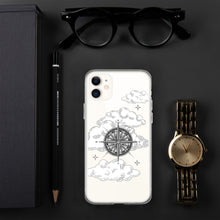 Vintage 'Compass In The Clouds' iPhone Case