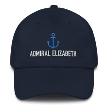"Admiral Personalized Ball Cap (""Dad Hat"" Style)"