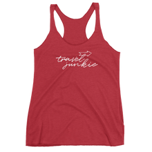 Travel Junkie Women's Racerback Tank