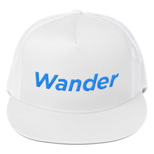 The Wanderer Hat - Embroidered Trucker Cap