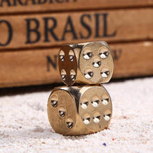 The Coolest Brass Game Dice In Town