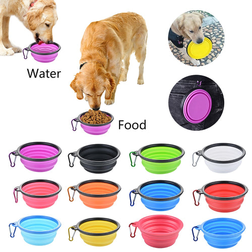 Foldable Travel Bowl For Dogs