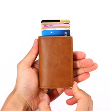 The Ingenious Quick-Up Credit Card Wallet (RFID-Blocking)
