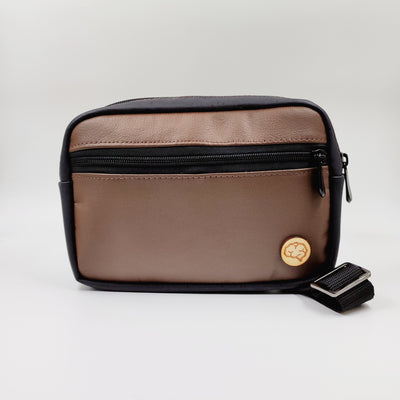 FANNY PACK BROWN & BLACK