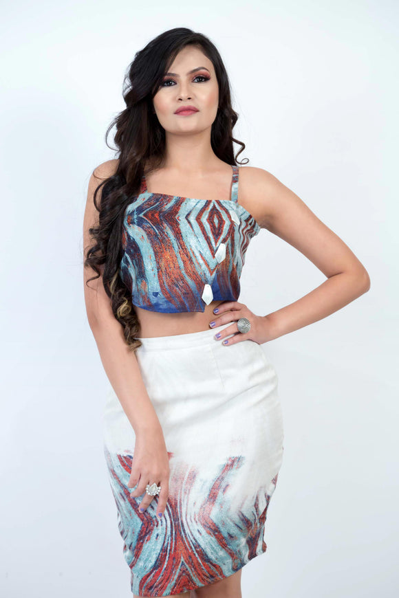 Two Piece Printed Co-ordinate