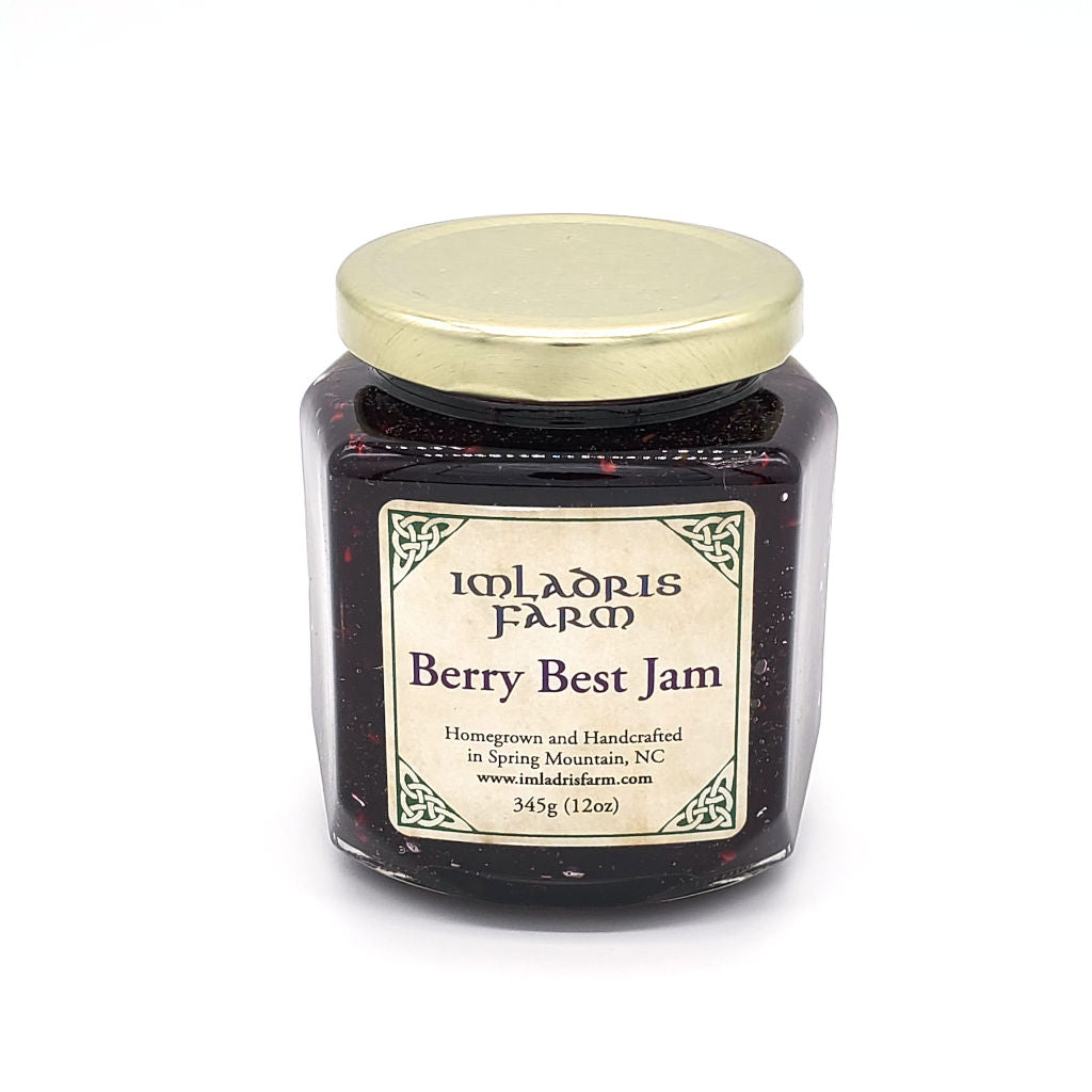 Berry Best Jam in 12 oz jar