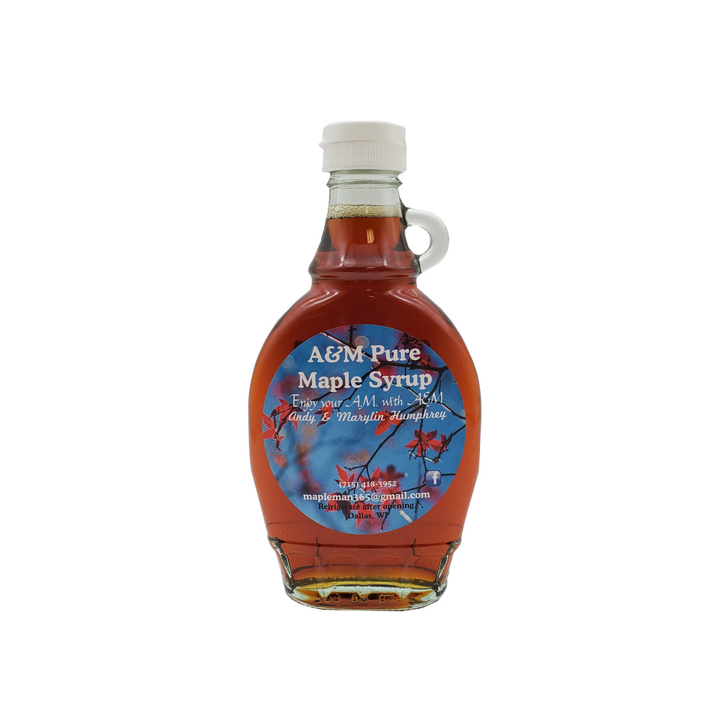 Pure Maple Syrup in 8 oz bottle