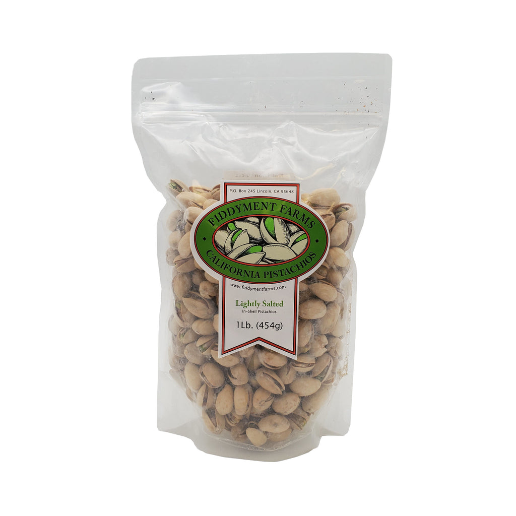 Lightly Salted Pistachios in 1 lb bag