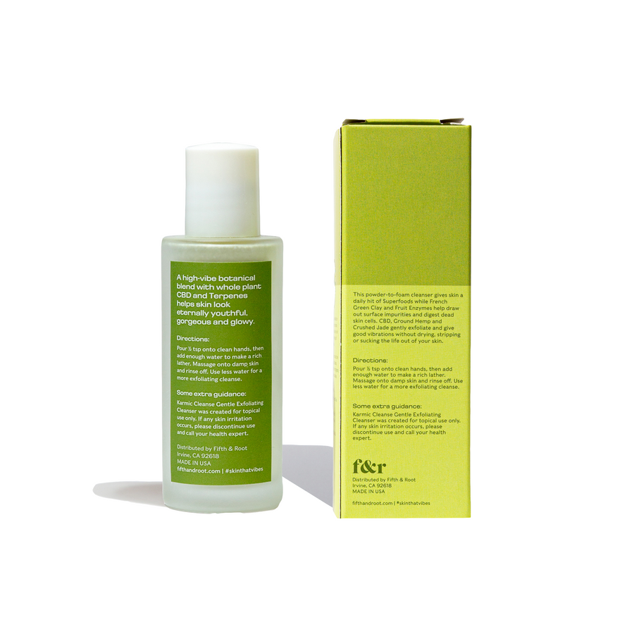 Karmic Cleanse Gentle Exfoliating Cleanser