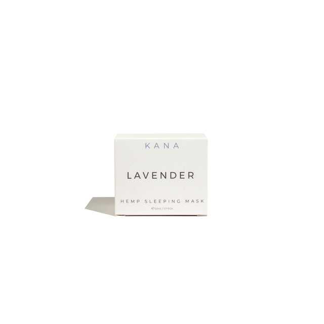 Lavender Hemp Sleeping Mask