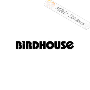 2x Birdhouse skateboards Logo Vinyl Decal Sticker Different colors & size for Cars/Bikes/Windows