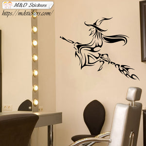 Wall Stickers Vinyl Decal Witch broom