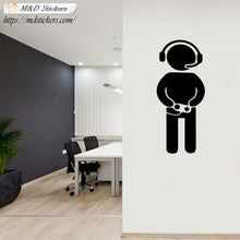 Wall Stickers Vinyl Decal Gamer Joystick