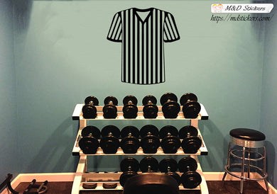 Wall Stickers Vinyl Decal Referee shirt