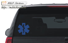 2x EMS Emergency team Vinyl Decal Sticker Different colors & size for Cars/Bikes/Windows