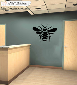 Wall Stickers Vinyl Decal Bee