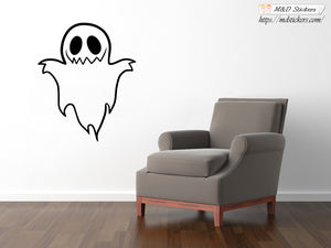 Wall Stickers Vinyl Decal Cute Ghost