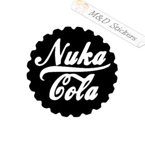 2x Fallout Nuka Cola Vinyl Decal Sticker Different colors & size for Cars/Bikes/Windows