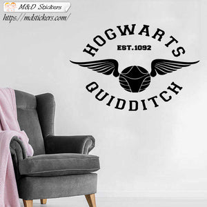 Wall Stickers Vinyl Decal Hogwarts