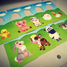 Baby clothes closet dividers. Farm animals. Newborn - 4T. CHD000007