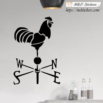 Wall Stickers Vinyl Decal weathervane rooster