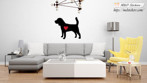Wall Stickers Vinyl Decal beagle