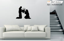 Wall Stickers Vinyl Decal Christ is born