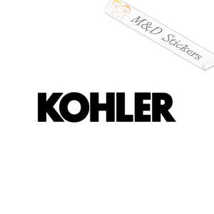 2x Kohler Logo Vinyl Decal Sticker Different colors & size for Cars/Bikes/Windows
