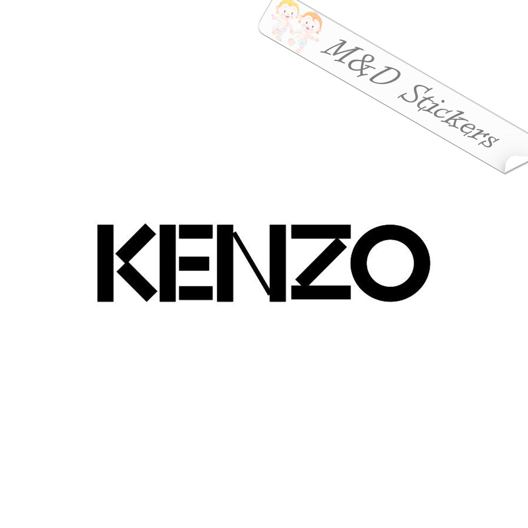 2x Kenzo Clothing Logo Vinyl Decal Sticker Different colors & size for Cars/Bikes/Windows