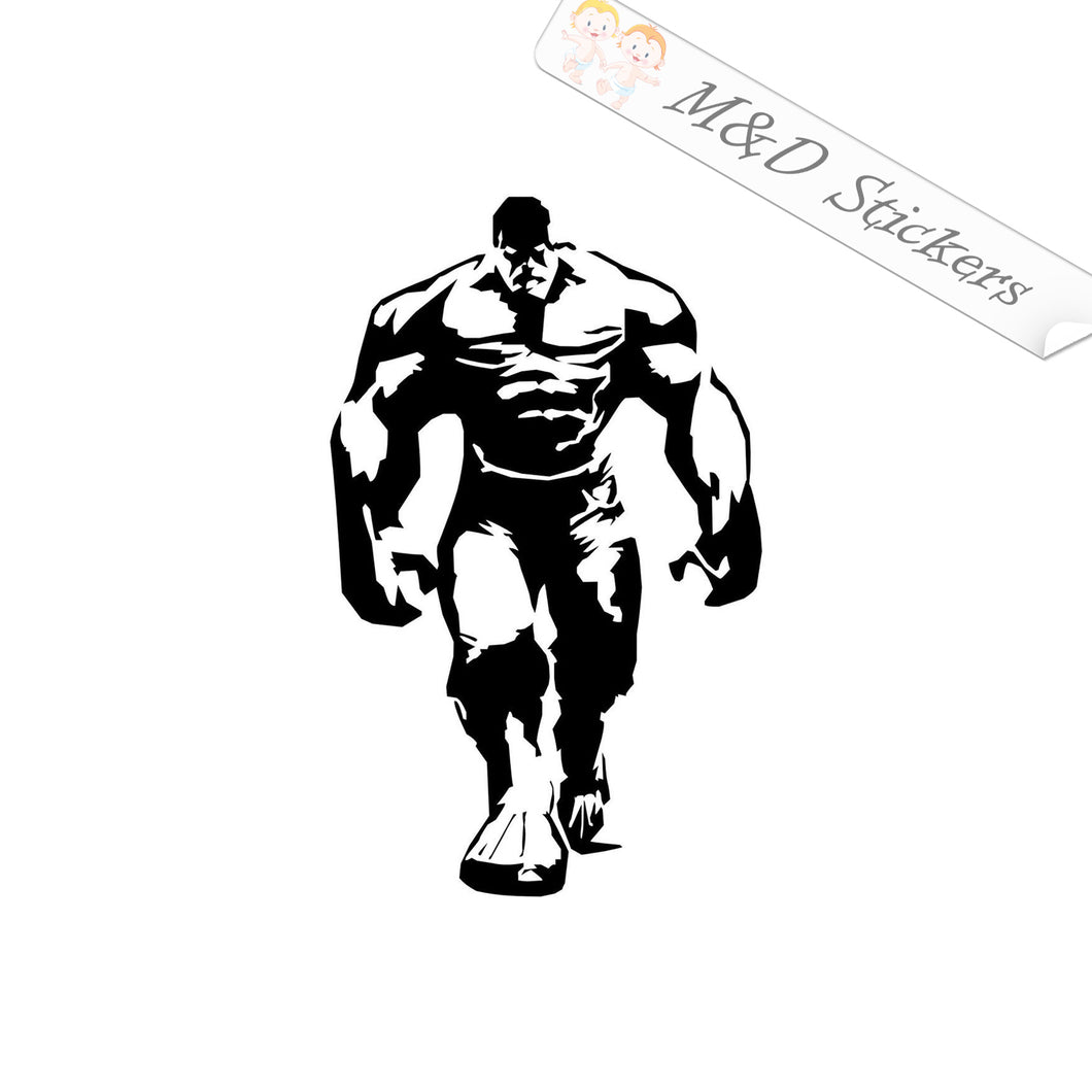 2x Hulk Vinyl Decal Sticker Different colors & size for Cars/Bikes/Windows