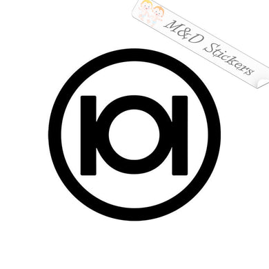 2x 101 skateboards Logo Vinyl Decal Sticker Different colors & size for Cars/Bikes/Windows