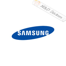 2x Samsung Logo Vinyl Decal Sticker Different colors & size for Cars/Bikes/Windows