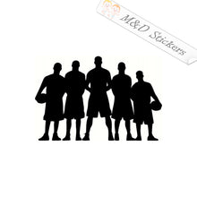 2x Basketball team squad Vinyl Decal Sticker Different colors & size for Cars/Bikes/Windows