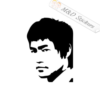 2x Bruce Lee Vinyl Decal Sticker Different colors & size for Cars/Bikes/Windows