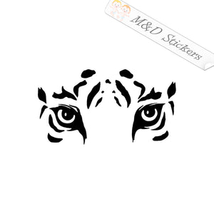 2x Tiger eyes Vinyl Decal Sticker Different colors & size for Cars/Bikes/Windows