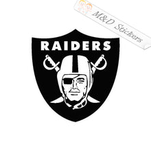 2x Raiders Logo Vinyl Decal Sticker Different colors & size for Cars/Bikes/Windows