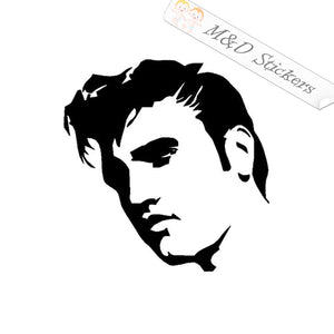 2x Elvis Presley Vinyl Decal Sticker Different colors & size for Cars/Bikes/Windows