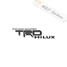 2x Toyota TRD Hilux Vinyl Decal Sticker Different colors & size for Cars/Bikes/Windows