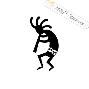 2x Native American Art kachina Vinyl Decal Sticker Different colors & size for Cars/Bikes/Windows