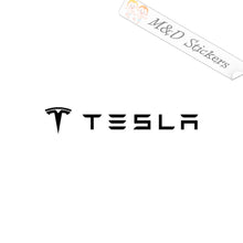 2x Tesla Logo Vinyl Decal Sticker Different colors & size for Cars/Bikes/Windows