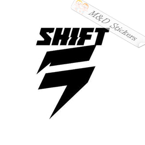 2x Shift Bicycles Logo Vinyl Decal Sticker Different colors & size for Cars/Bikes/Windows