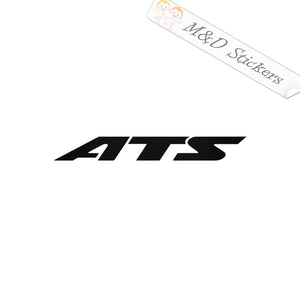 2x ATS Cadillac Vinyl Decal Sticker Different colors & size for Cars/Bikes/Windows