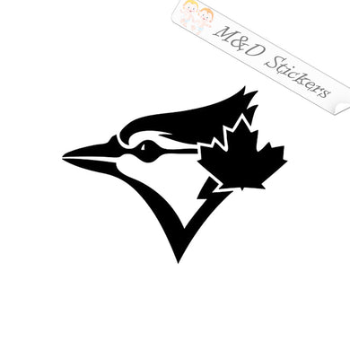 2x Toronto Blue Jays Vinyl Decal Sticker Different colors & size for Cars/Bikes/Windows